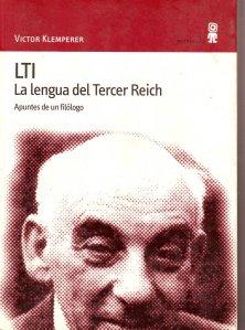 la lengua del tercer reich / viktor klemperer